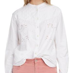 Isabel Marant Etoile Willo blouse size 8 BNWT